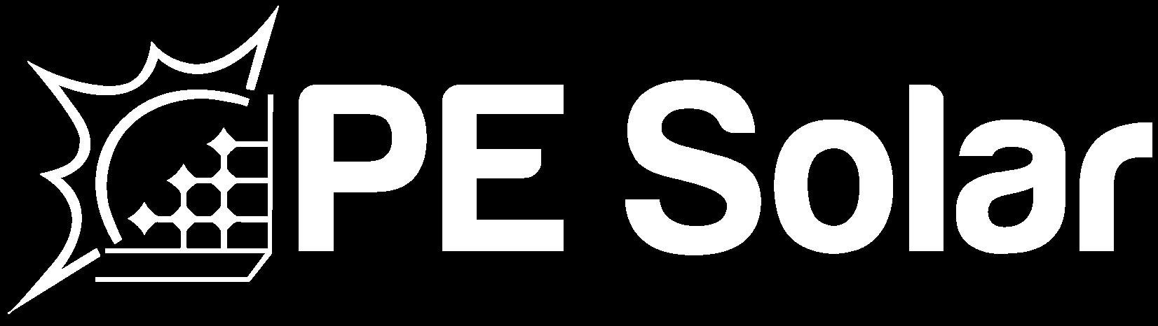 PESolar-Logo_White_TransBG