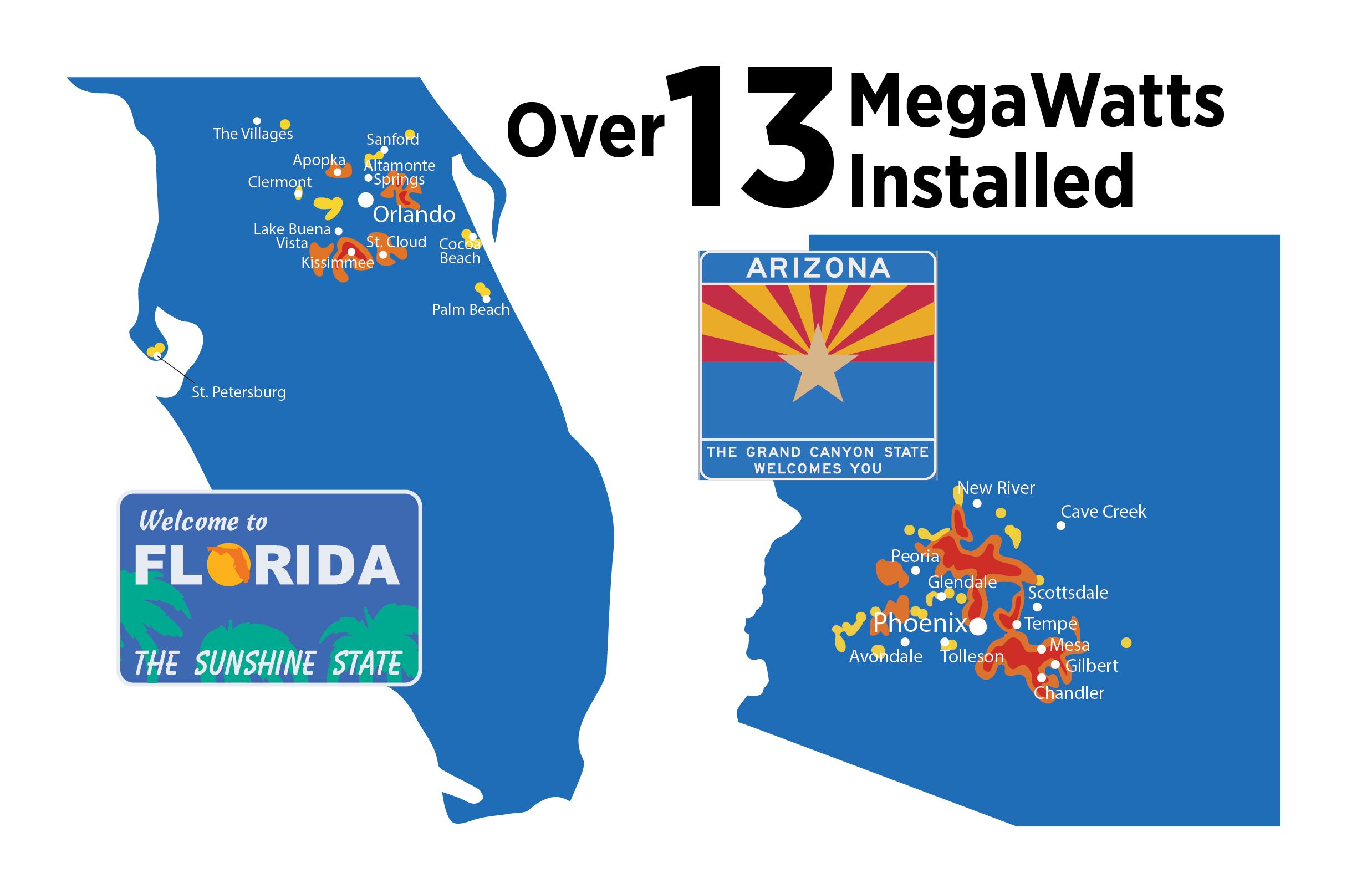 AZ FL Installation Maps